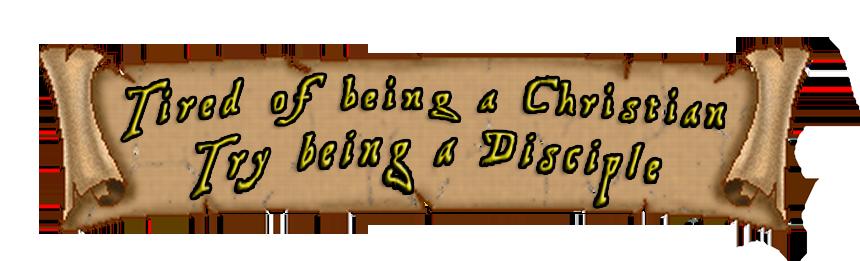 Disciple Banner